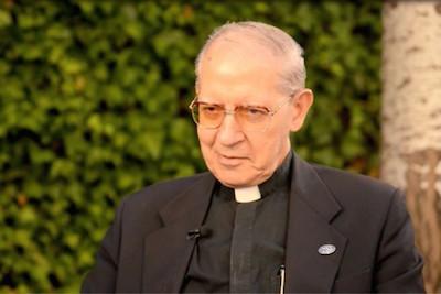 Entrevista al Padre General, a días de su renuncia.