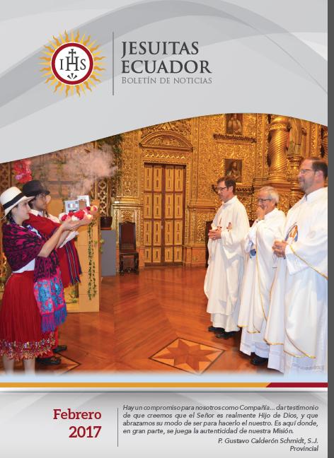 Boletín Institucional Jesuitas Ecuador - Febrero